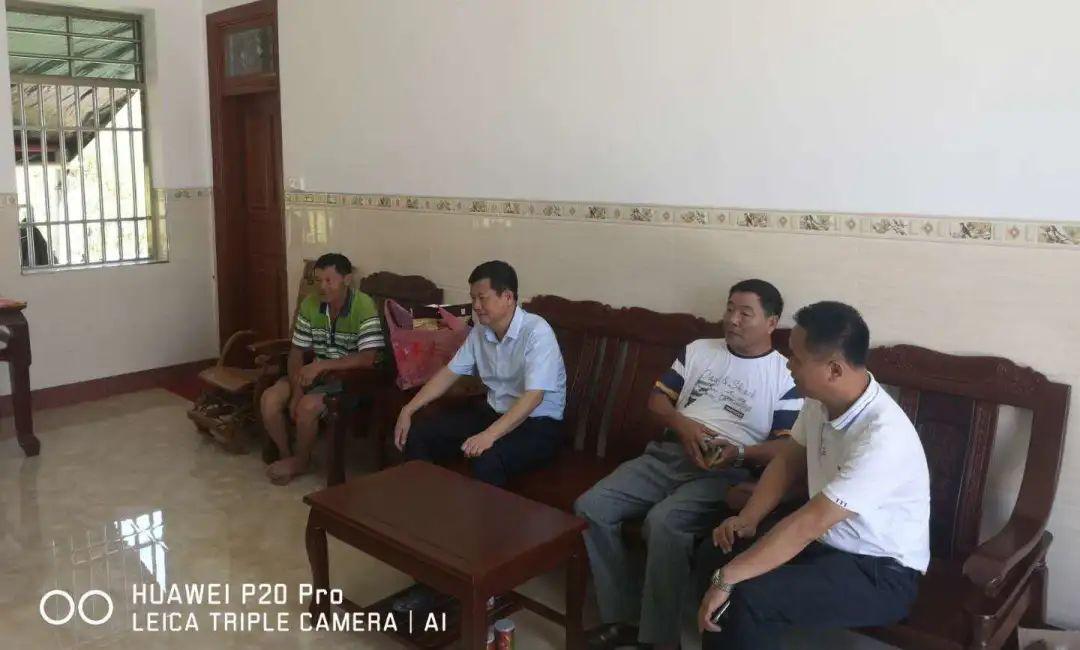 符平市长走访慰问中原镇中原村建档立卡贫困户