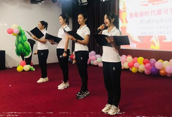 潭门镇中心幼儿园推普周活动丰富多彩