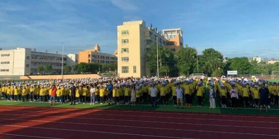 文明其精神  野蛮其体魄 | 长坡中学举行2020年军训动员大会