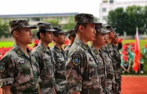 团结、责任、励志|温泉中学举行2020年秋季学生军训活动