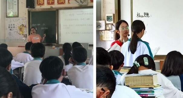 朝阳中学校每周内公开课活动持续开展,取初步成效