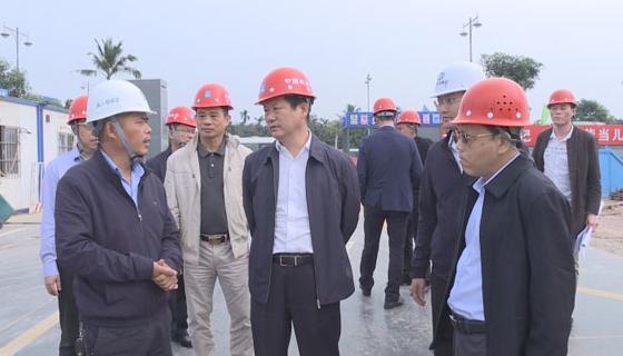 符平调研乐城先行区固定资产投资推进情况 全力以赴加快推进项目建设 有力有效推动琼海经济高质量发展