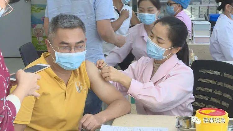 琼海市正式启动新冠疫苗接种工作 首批优先接种6000名重点人群